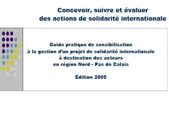 Concevoir, suivre et évaluer des actions de solidarité internationale. Guide pratique de sensibilisation
