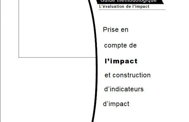 Guide méthodologique pour prendre en compte l'impact des actions de développement et construire les indicateurs d'impact