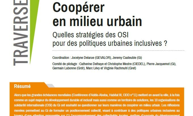 Traverses 45 - coopérer en milieu urbain
