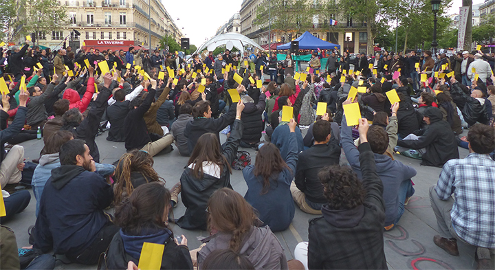Nuit Debout, une expérience de démocratie participative