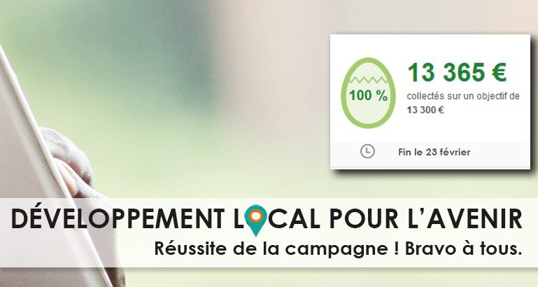 La campagne de crowdfunding du CIEDEL a permis de lever plus de 13000€