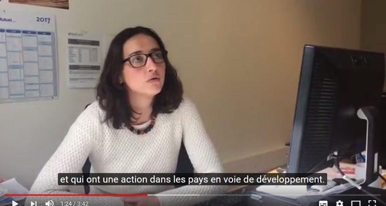 Témoignages vidéo sur le stage collectif évaluation des projets de développement, dans l'Allier (avril 2017)