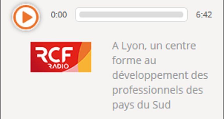 Émission RCF pour présenter le crowdfunding Développement Local pour l'Avenir