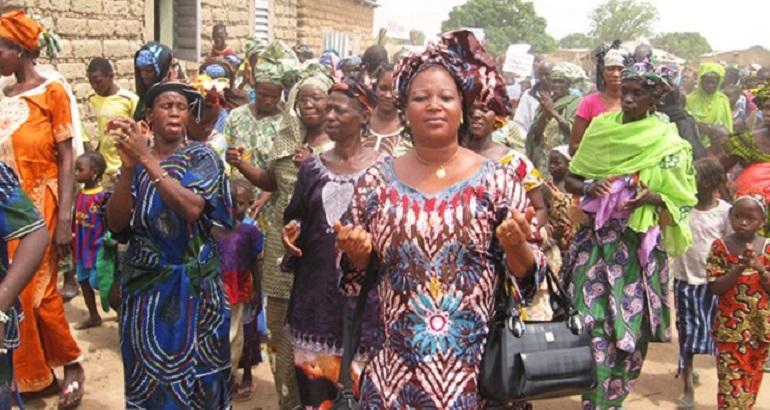 Nana Thiam travaille à la sensibilisation des femmes sur les questions de santé et de droits depuis son passage au CIEDEL