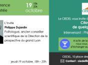 La conférence de rentrée du CIEDEL, Citoyen, de quelque part ? accueillera Philippe Dujardin politologue français