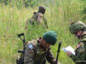 Kafunzi, Province du Nord Kivu, RD Congo: Les soldats des Forces armées de la RD Congo, avec l'appui de la Force de la MONUSCO, poursuivent la traque des groupes armés à l'est de la RD Congo. Photo MONUSCO/Alain Wandimoyi
