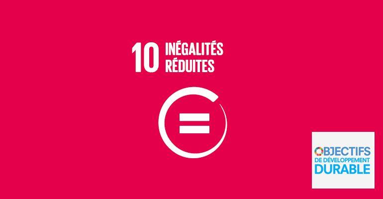 L'ODD 10, inégalités réduites, ne prend en compte que les inégalités de revenus. Les inégalités face au pouvoir sont la cause première des inégalités de revenus.