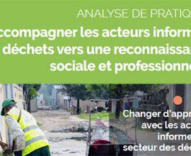 Couverture document insertion des travailleurs informels déchets