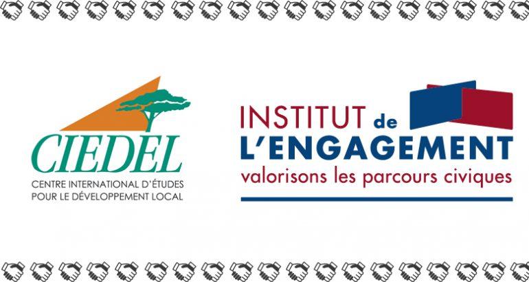 logos du CIEDEL et de l'Institut de l'Engagement